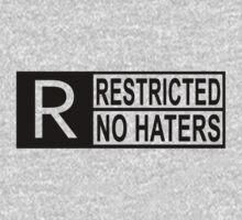 Restricted - no haters by hoddynoddy