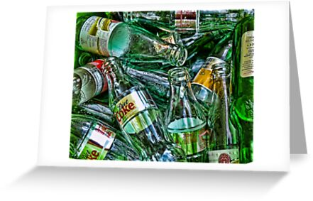 Ten Green Bottles by Chrissie Taylor