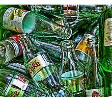 Ten Green Bottles Photographic Print