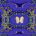 Ivory Butterfly by Deborah Lazarus