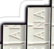 FULL XANAX BARS Sticker