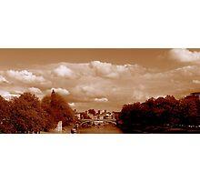 Bridge over River Ouse, York Photographic Print