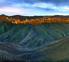 BLUE MOUNTAINS-AUSTRALIA by Wayne Dowsent