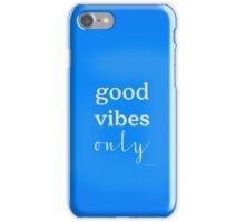 Good Vibes movie white iPhone Case/Skin