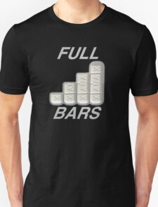 FULL XANAX BARS WHITE Unisex T-Shirt