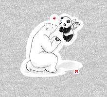 When A Polar Bear Loves A Panda Unisex T-Shirt