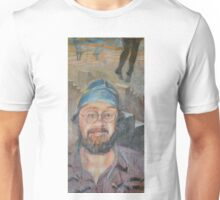 Almost All The Girls Are Taller Than Me - Portrait In Crayon Unisex T-Shirt