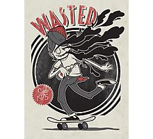 Wasted Youth Photographic Print