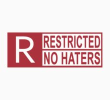 restricted - no haters red by hoddynoddy