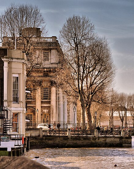 Trafalgar Inn and College, Greenwich by Karen Martin IPA
