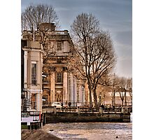Trafalgar Inn and College, Greenwich Photographic Print