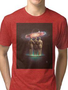 Time Machine Tri-blend T-Shirt