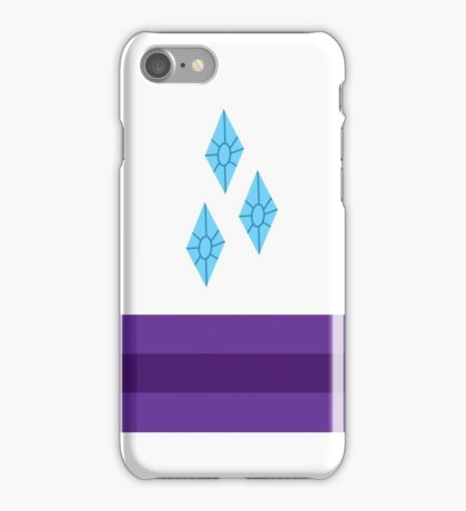 My little Pony - Rarity Cutie Mark Special V2 iPhone Case/Skin