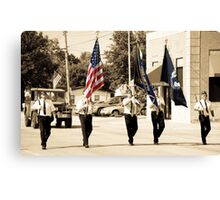 Small Town Hero's Canvas Print