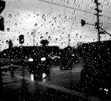 Raindrops and street views by kyleO