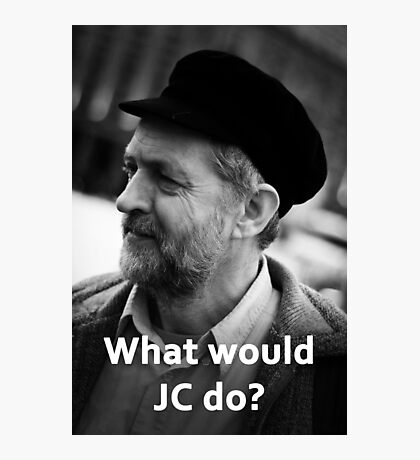 What would JC do Photographic Print