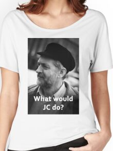What would JC do Women's Relaxed Fit T-Shirt