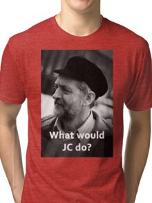 What would JC do Tri-blend T-Shirt