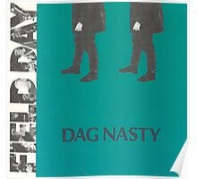 DAG NASTY - FIELD DAY Poster