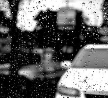 Raindrops and Car by kyleO
