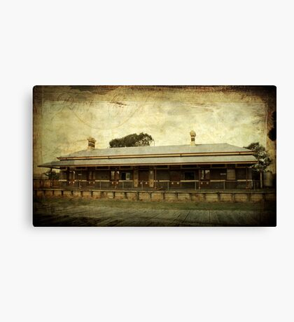 ~ Old Railway Station - Casterton ~ Canvas Print