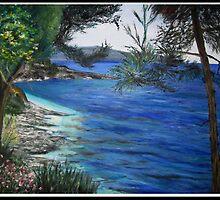 Kefalonia Shoreline by LauraJennings