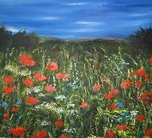 Poppy Meadow by LauraJennings