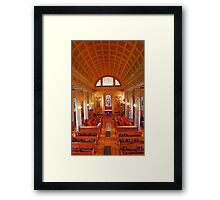 St Lawrence Church, Mereworth Framed Print