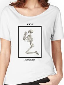 SURRENDER  Women's Relaxed Fit T-Shirt