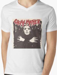 GRAY MATTER - GRAY MATTER Mens V-Neck T-Shirt