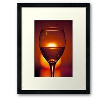 Time For Wine Framed Print