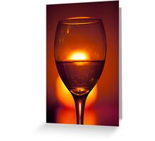 Time For Wine Greeting Card