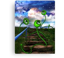 Love Crazed Perigee Moon Worms Canvas Print