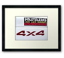 American Lit Framed Print