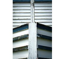 Canal Boat Bow Photographic Print