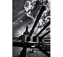 Sixteen Inch Guns of Alabama Photographic Print