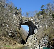 Natural Bridge in Shenandoah Valley, VA by Debbie Robbins
