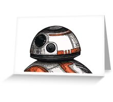 BB-8 Greeting Card