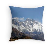 Himalayan View Throw Pillow