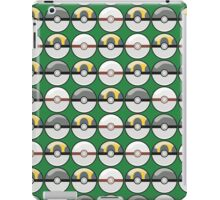 Gray and Yellow Pokeballs iPad Case/Skin
