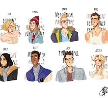 Cast of 'Until Dawn' by Kanibble