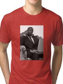 STORMZY SUIT PORTRAIT Tri-blend T-Shirt