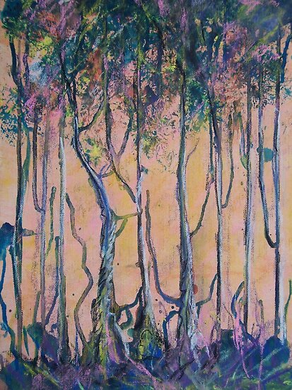 Forest of Dreams by Dianne  Ilka