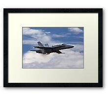 F/A - 18 Vapor Framed Print