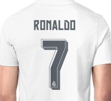 CR7 season 2015-16 Unisex T-Shirt