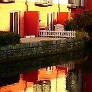 Red reflection of some apartments by contradirony