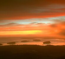 Cadillac Mountain Sunrise  by Stephen Vecchiotti