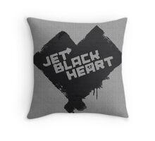 5 Seconds of Summer - Jet Black Heart Throw Pillow