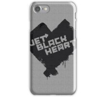 5 Seconds of Summer - Jet Black Heart iPhone Case/Skin