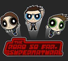 Supernatural Powerpuffs by BovaArt